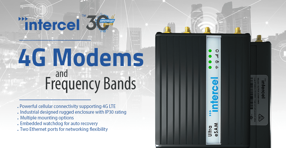 4G Modems and Frequency Bands